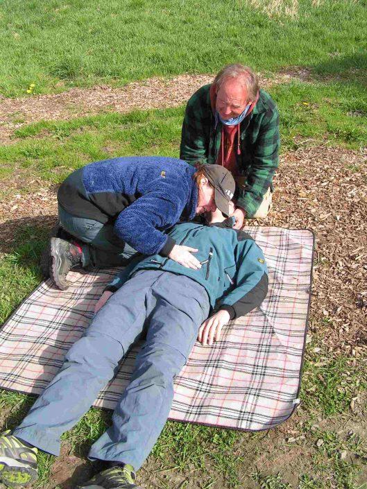 Erste Hilfe Outdoor